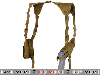 Condor Universal Shoulder Holster (Coyote Brown) Holsters - Fabric- ModernAirsoft.com
