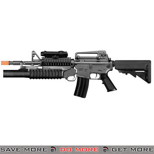Dboy Full Size M3181 M4 Carbine w/ M203 Low Power Airsoft AEG