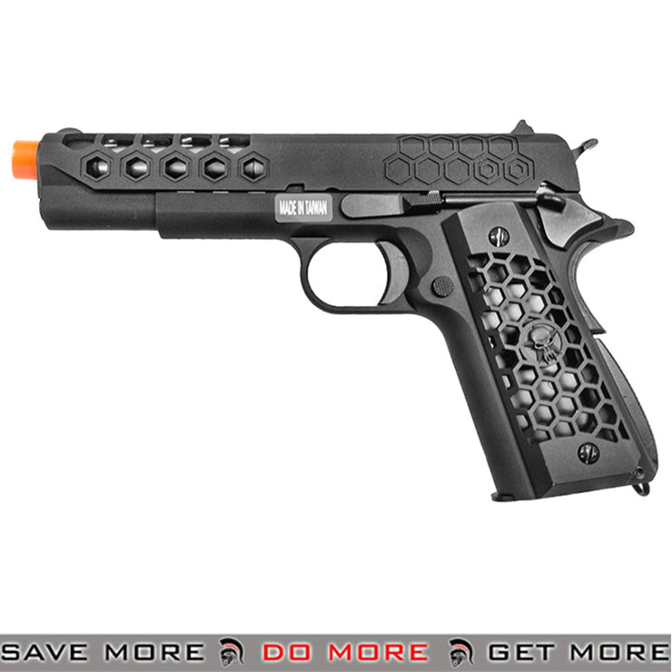 WE Tech Hex Cut G2 Full Metal 1911 GBB Airsoft Pistol