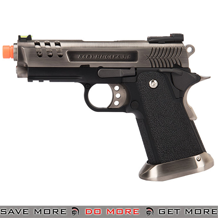 WE Tech 3.8 Deinonychus Full Metal Hi-Capa GBB Airsoft Pistol