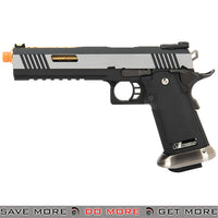 WE Tech 5.1 T-Rex Full Metal Hi-Capa GBB Airsoft Pistol Silver