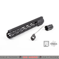 "PTS Airsoft Mega Arms Lightweight Wedge Lock M-Lok M4 / M16 12"" Handguard Rail - Black RIS / RAS / Rails- ModernAirsoft.com"