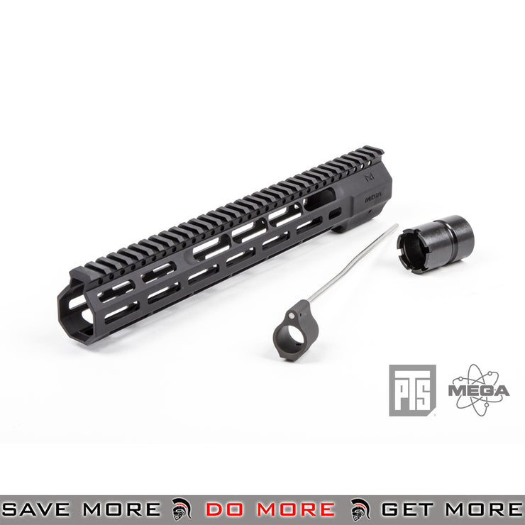 PTS Airsoft Mega Arms Lightweight Wedge Lock M-Lok M4 / M16 12