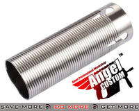 Angel Custom CNC Advanced Stainless Ribbed Airsoft AEG Cylinder Cylinders- ModernAirsoft.com