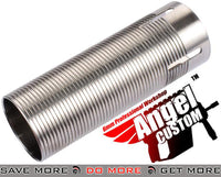Angel Custom CNC Advanced Stainless Ribbed Airsoft AEG Cylinder 300mm+ Cylinders- ModernAirsoft.com