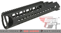 "Angel Custom Black Bottle Opener 15"" Keymod Handguard G36 Series RIS / RAS / Rails- ModernAirsoft.com"
