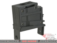 Angel Custom Magazine Adapter for Firestorm / Thundestorm Airsoft AEG Drum Flahmags (Black / G36) Magazine Accessories- ModernAirsoft.com