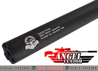 "Angel Custom Bio-Hazard 275mm CNC Aluminum ""Silent Warrior"" 14mm Airsoft Mock Silencer Mock Silencer- ModernAirsoft.com"