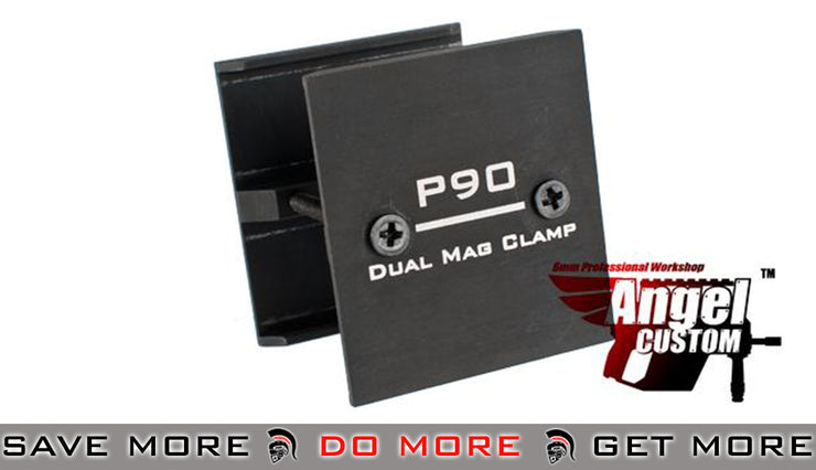 Angel Custom Aluminum P90 Dual Magazine Clamp Magazine Accessories- ModernAirsoft.com
