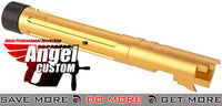 Angel Custom Gold Goliath Outer Barrel for 5.1 Hi-Capa Series GBB Pistols (WE-Tech Tokyo Marui KJW) WE-Tech Parts- ModernAirsoft.com