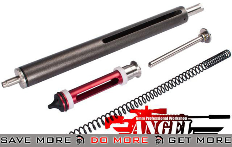 Angel Custom SP170 VSR-10 MAX Stainless Steel Cylinder Set *Shop by Model- ModernAirsoft.com