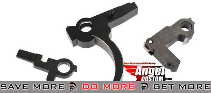 Angel Custom Advanced CNC Steel Trigger Saer Hammer Set for WE G39 Series Gas Blowback WE-Tech Parts- ModernAirsoft.com