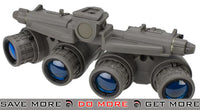 Lancer Tactical Replica Dummy GPNVG-18 Night Vision Goggle - FDE Head - Helmet Accessories- ModernAirsoft.com