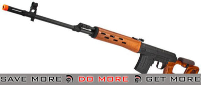 CYMA Full Metal SVD Airsoft AEG Sniper Rifle CM057RW - Real Wood SVD / Dragunov / Type 79- ModernAirsoft.com