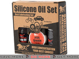 AIM Oil / Grease / Spray Set Advanced Silicone Lube / Oil / Grease- ModernAirsoft.com