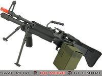 A&K Full Metal Mk43 (M60E4) Squad Support Machine Gun Airsoft AEG A&K- ModernAirsoft.com