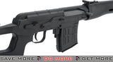 A&K Bolt Action SVD Dragunov Airsoft Sniper Rifle (Stealth Black) SVD / Dragunov / Type 79- ModernAirsoft.com