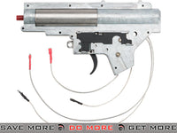 A&K Complete Full Metal Gearbox for SR25 Style Airsoft AEG DMR Rifles Gearbox- ModernAirsoft.com