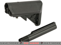 A&K PTW / STW M4 Series Airsoft AEG PTW Type Crane Stock w/ Buffer Tube Stocks- ModernAirsoft.com