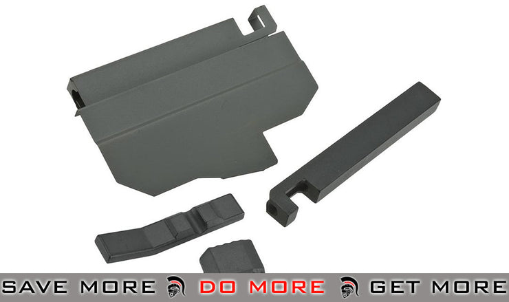 A&K ACR Airsoft AEG Complete Charging Handle Assembly (Black) Charging Handles- ModernAirsoft.com