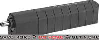 "Angel Custom Disruptor 7.2"" Power Up Barrel Extension - Black 14mm Negative - Modern Airsoft"