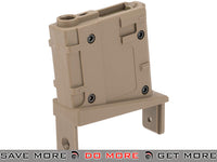 Angel Custom Magazine Adapter for Firestorm / Thundestorm Airsoft AEG Drum Flahmags (Dark Earth / M4) Magazine Accessories- ModernAirsoft.com