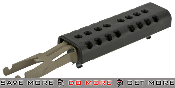 Polymer Heat Shield for Classic Army and Other Compatible M249 Series Airsoft AEGs Hand Guards- ModernAirsoft.com
