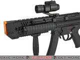 Full Metal Custom Swordfish A5 Airsoft AEG Sub-Machine Gun with Folding Stock by 6mmProShop Airsoft Electric Gun- ModernAirsoft.com