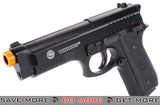 Taurus Licensed PT92 M9 Airsoft Full Size Pistol with Metal Slide Air Spring Pistols- ModernAirsoft.com