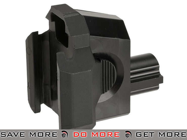 ASG CNC Machined Buffer Tube Adapter for Scorpion EVO3 A1 Airsoft AEG Adapters- ModernAirsoft.com