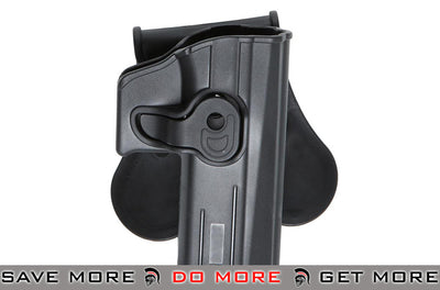 ASG Strike Systems Hardshell Holster for ASG CZ P07 and P09 Airsoft Pistols (Paddle Attachment) Holsters - Hard Shell- ModernAirsoft.com