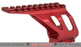 ASG CNC Machined Aluminum Rail Mount for ASG CZ SP-01 Airsoft Pistols (Red) Rail Mounts- ModernAirsoft.com