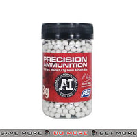 Precision 0.43g 6mm Airsoft BBs by ASG - White, 1000 ct