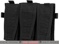 Black Crye Precision AVS Detachable Flap M4 Magazine Pouch Black Pouches- ModernAirsoft.com