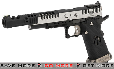 "AW Custom HX24 ""Wind Velocity"" IPSC Gas Blowback Airsoft Pistol (Color: Two-Tone) Gas Blowback Pistol- ModernAirsoft.com"