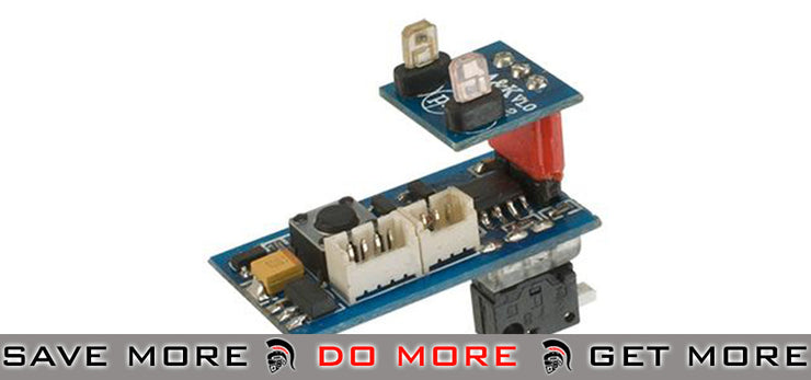 A&K M4 STW Series AEG Rifle Smart Electrical Control Unit Wiring & Mosfets- ModernAirsoft.com