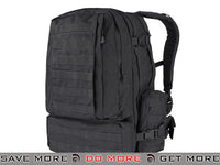 Condor Black Tactical Expedition Combat 3 day assault Back Pack Backpacks- ModernAirsoft.com