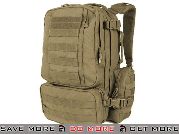 Condor Tan Convoy Outdoor Pack Backpacks- ModernAirsoft.com