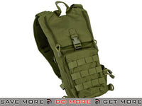 Lancer Tactical Light Weight Molle Hydration Carrier (OD Green) Hydration Carriers- ModernAirsoft.com