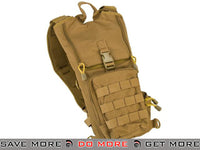 Lancer Tactical Light Weight Molle Hydration Carrier (Tan) Hydration Carriers- ModernAirsoft.com