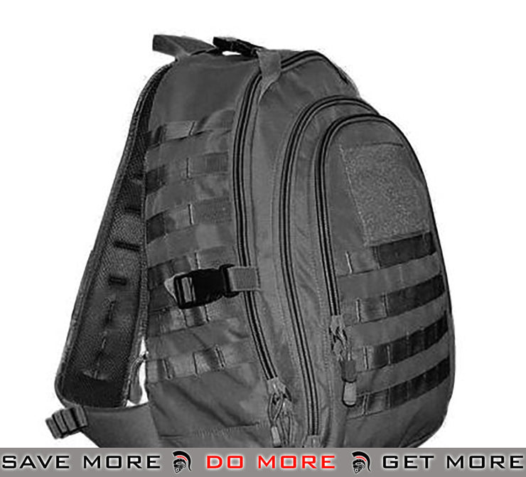 Condor Black Ambidextrous Tactical Sling Bag Backpacks- ModernAirsoft.com