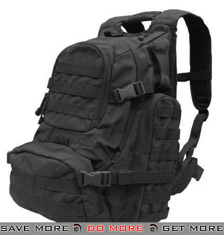 Condor Black Tactical Military Grade Urban Go Pack Backpacks- ModernAirsoft.com