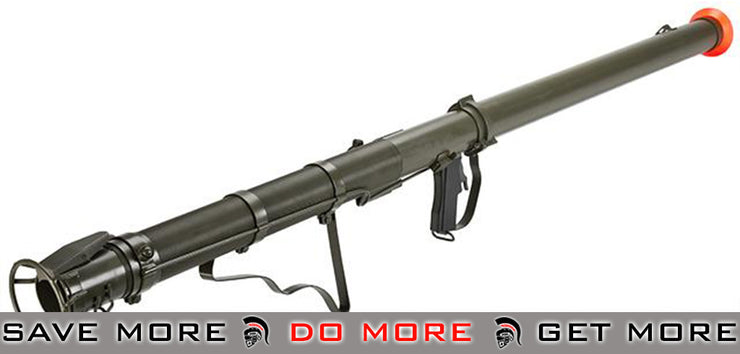 Full Metal 1:1 Scale Airsoft WWII M9A1 Bazooka Grenade Launcher by 6mmProShop Grenade Launchers- ModernAirsoft.com