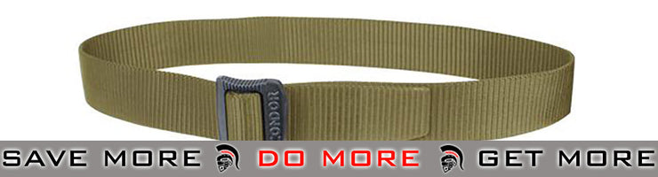Condor Large Tan BDU Belt Belts- ModernAirsoft.com