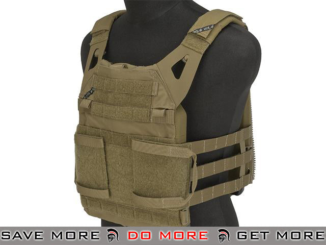 Crye Precision Jumpable Plate Carrier™ 2.0 (JPC) - Coyote (Size: Large) Tan / Desert- ModernAirsoft.com