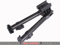AIM Sports Height Adjustable Compact Bipod for RIS systems Bipods- ModernAirsoft.com