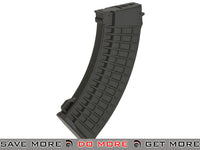 CYMA 520rd Waffle Style Hi-Cap FlashMag for AK Series Airsoft AEG Rifles (Black) Electric Gun Magazine- ModernAirsoft.com