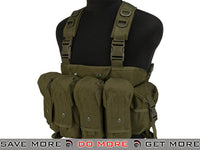 Lancer Tactical AK Chest Rig (OD Green) Chest Rigs & Harnesses- ModernAirsoft.com