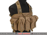 Lancer Tactical AK Chest Rig (Tan) Chest Rigs & Harnesses- ModernAirsoft.com