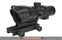 Lancer Tactical Green Fiber Optic 4x32 Magnification Illuminated Rifle Scope Illuminated Scopes- ModernAirsoft.com